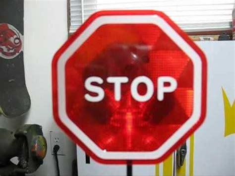 garage car stop garage parking sensor for cars with led stop sign