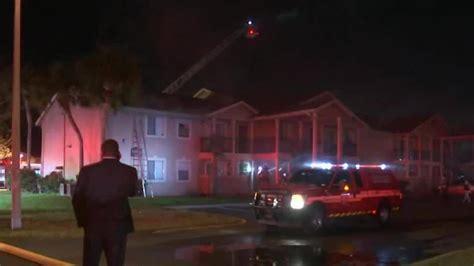 apartment orange county burning building fire
