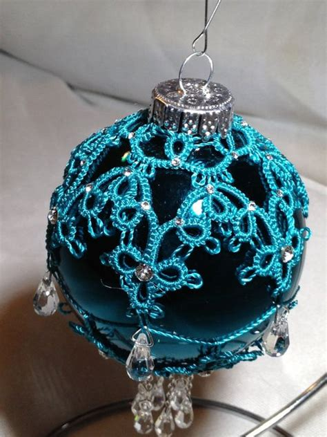 christmas ornament special order needle tatting by