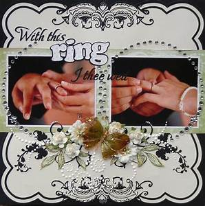 quotwith this ring i thee wedquot scrapbookcom books worth With with this ring i thee wed
