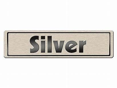 Namensschild Kleines Silber Ihrer Wahl Farbe Kaufen