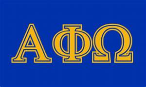 alpha phi omega greekhouse of fonts With alpha phi omega letters