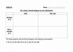 Carroll Diagrams By Saz0885 - Teaching Resources