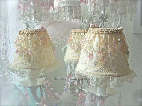 shabby chic l shades shabby chic chandelier shades shabby paris pink chic