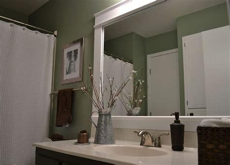 Diy Bathroom Mirror by Diy Bathroom Mirror Frame Diy
