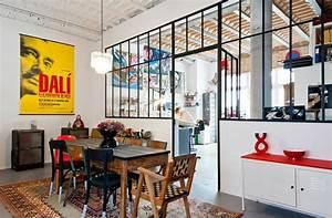 Cuisine Deco Industrielle : decoration salle a manger industriel ~ Carolinahurricanesstore.com Idées de Décoration