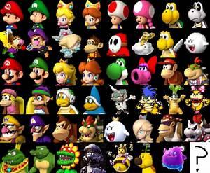 Mario Kart Wii U : mario kart wii u roster remake by ohiostatebuckeyes on deviantart ~ Maxctalentgroup.com Avis de Voitures