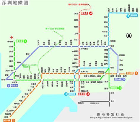 深圳地鐵圖