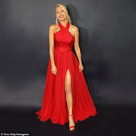 Strictly's Tess Daly, 51, looks incredible in a stunning ...