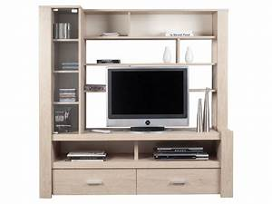 meuble tv haut conforama