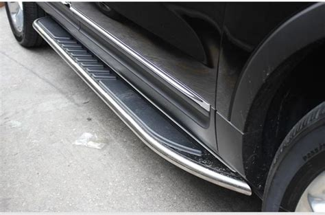 stainless steel nerf side step bars footboard  ford