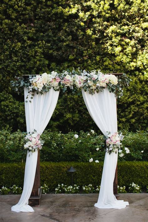 arch wedding 25 best ideas about white wedding arch on
