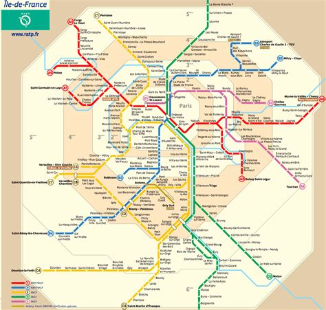 Carte Metro Rer by Metro Route Planner By