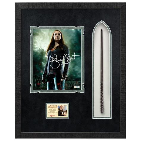 Bonnie Wright Autographed Harry Potter Ginny Weasley 8×10