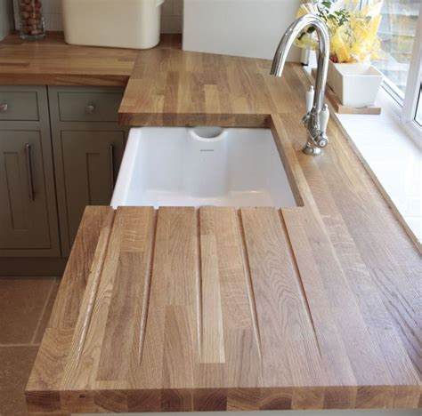ideas  oak wood worktops  pinterest oak