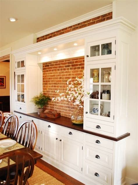 Kitchen Buffet Area by 21 Dining Room Built In Cabinets And Storage Design
