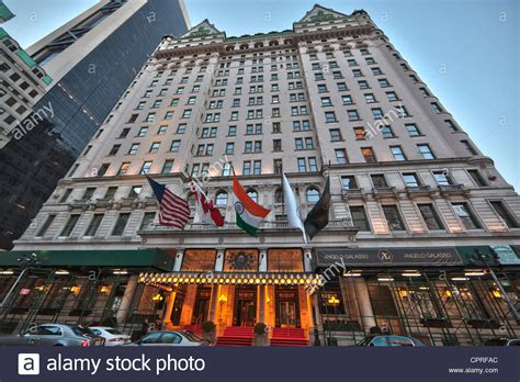 the plaza hotel owned by fairmont hotels in manhattan new