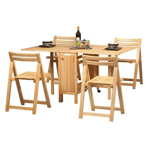 square table and chairs unvarnished oak wood drop leaf dining table added by four
