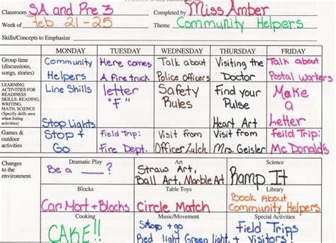 community helpers preschool lesson plans lesson plans community helpers 587