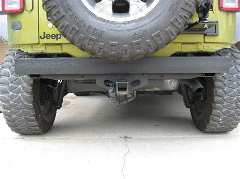 homemade jeep bumper plans torn homemade rear bumper jk forum com the top