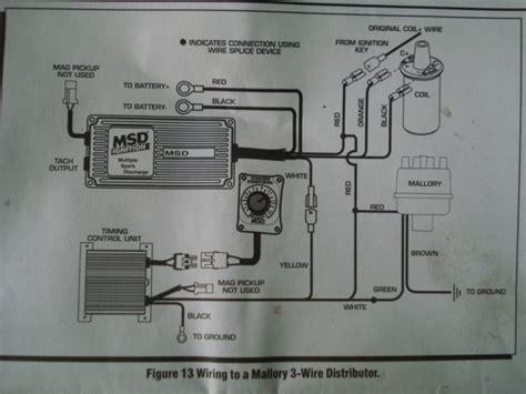 3 Wire Distributor Wiring Diagram by Wiring A Procomp Billet Distributor 3 Wires Unlawfl