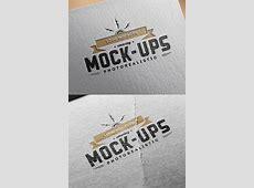 Logo MockUps – Paper Edition GraphicBurger