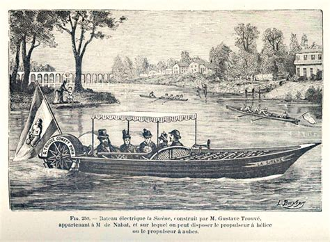 Cigarette Boat Inventor by Gustave Trouve Inventor Of The Outboard Re Discovered