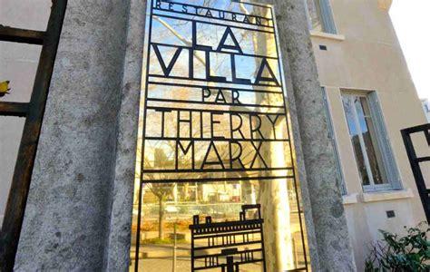 thierry marx ouvre la brasserie la villa  lyon