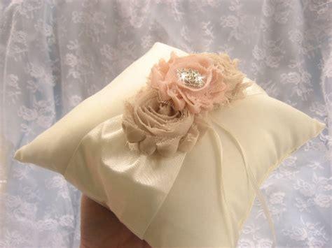 shabby chic engagement rings ring bearer pillow wedding ring pillow shabby chic vintage