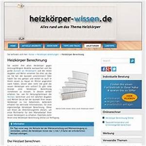 Wärmeleistung Heizkörper Berechnen : celani cappello pearltrees ~ Themetempest.com Abrechnung