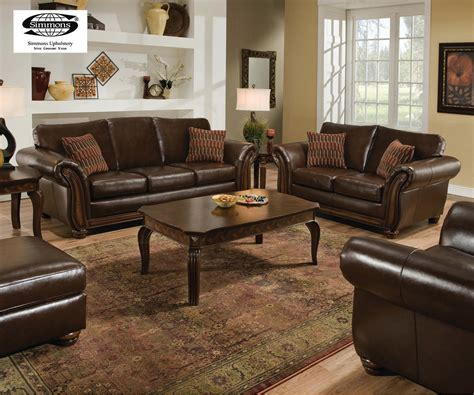 living room sets 2000 santa traditional bonded leather living room