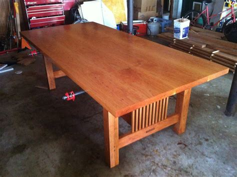 Chris Hollis 8/4 Cherry Table   Bagdad Lumber Sawmill