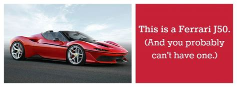 First Look At The Photos And Information Of The Ferrari J50