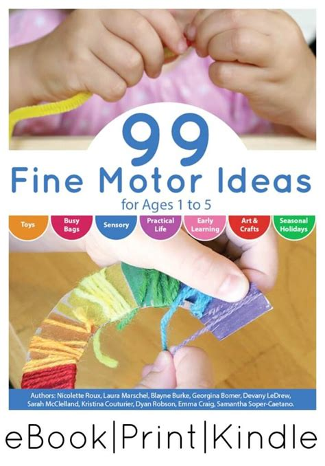fine motor activities book  ages
