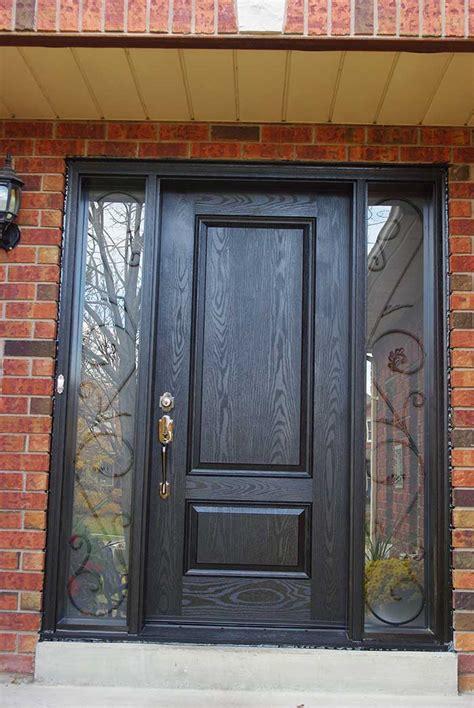 Fiberglass Front Doors by Fiberglass Doors Toronto 187 Wood Grain Fiberglass Doors