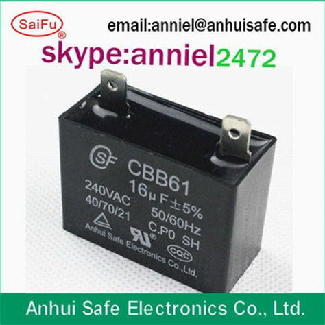 Cbb61 Ceiling Fan Capacitor Suppliers by Cbb61 Ac Motor Capacitor Plastic Ceiling Fan