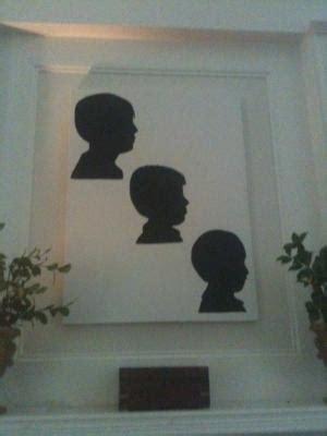 diy silhouette canvas easy      canvas