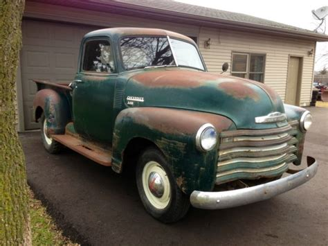 barn find  chevrolet   ton pickup truck