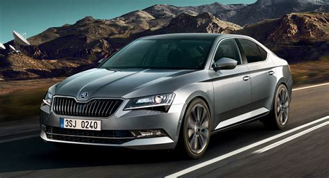 Skoda Superb Adds New Equipment For 2018my