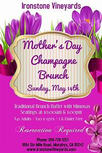 2017 Mothers Day Brunch at Ironstone | Murphys, California
