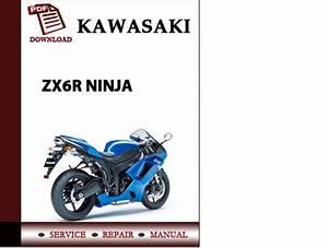 Kawasaki Zx6r Ninja Workshop Service Repair Manual Pdf