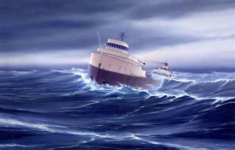 When Did The Edmund Fitzgerald Ship Sank by Ancestor Envy Curbow Montoya Family