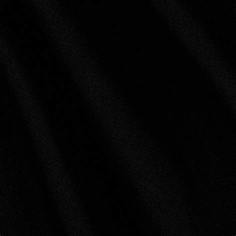 Stretch Charmeuse Satin Black - Discount Designer Fabric