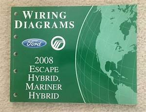 2008 Ford Escape Hybrid Mariner Hybrid Wiring Diagrams Oem