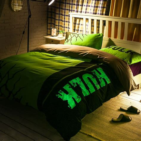 incredible hulk bedding set queen size  teen ebeddingsets