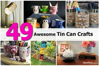 Tin Crafts Awesome Cans Around Diyprojectsworld Brenda