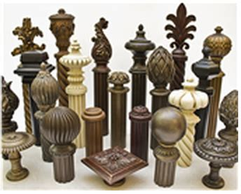 image gallery large wooden curtain rods