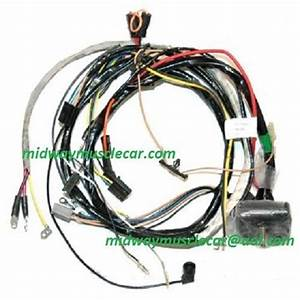 71 72 73 74 Engine Wiring Harness Chevy Corvette 454 350