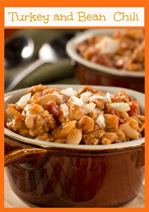 Type 2 means that your body doesn't use insulin properly. Turkey and Bean Chili | Recipe | Diabetic snacks, Ground ...