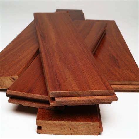 Unfinished Santos Mahogany Hardwood Flooring by Santos Mahogany 3 4 Quot X 5 Quot X 1 7 Clear Mixed Unfinished